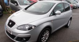 Seat Altea 1.6TDI CR ( 105ps ) Ecomotive 2012MY SE, 5DR, H/B, SILVER MET, £30 ROAD TAX, VERY CLEAN EXAMPLE
