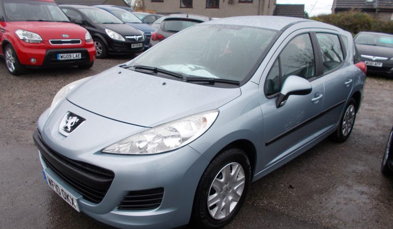 Peugeot 207 SW 1.6HDI 90 ( a/c ) ( 09 ) S, 5DR, H/B, BLUE MET, LOW MILES, £30 ROAD TAX, VERY CLEAN EXAMPLE full