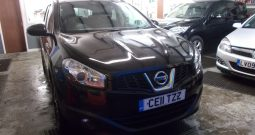 Nissan Qashqai 1.5dCi 2WD N-TEC, 5DR, H/B, BLACK MET, LOW MILES, VERY CLEAN EXAMPLE