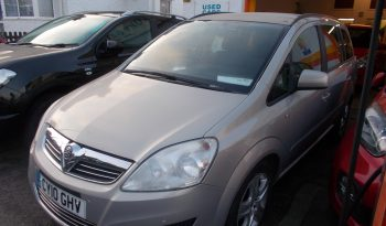 Vauxhall/Opel Zafira 1.7CDTi 16v ecoFLEX 2010MY Exclusiv, 5DR, H/B, BEIGE MET, LOW MILES, VERY CLEAN EXAMPLE full