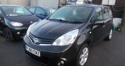 Nissan Note 1.5dCi ( 86ps ) E5 2011MY Tekna, 5DR, H/B, BLACK MET, HALF LEATHER, TOP OF THE RANGE, 57000 MILES ONLY, £30 ROAD TAX, VERY CLEAN EXAMPLE