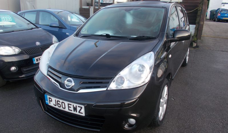 Nissan Note 1.5dCi ( 86ps ) E5 2011MY Tekna, 5DR, H/B, BLACK MET, HALF LEATHER, TOP OF THE RANGE, 57000 MILES ONLY, £30 ROAD TAX, VERY CLEAN EXAMPLE full