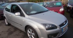 Ford Focus 1.6 2006.5MY Zetec Climate, 3DR, H/B, SILVER MET, 39000 MILES ONLY, VERY CLEAN EXAMPLE