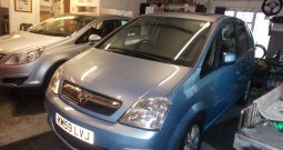Vauxhall/Opel Meriva 1.6i 16v ( a/c ) 2009MY Design, 5DR, H/B, BLUE MET, 45000 MILES ONLY, VERY CLEAN EXAMPLE