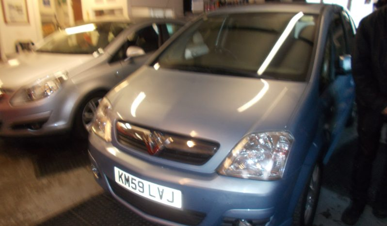 Vauxhall/Opel Meriva 1.6i 16v ( a/c ) 2009MY Design, 5DR, H/B, BLUE MET, 45000 MILES ONLY, VERY CLEAN EXAMPLE full