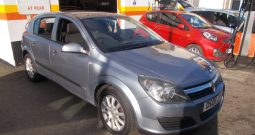 Vauxhall/Opel Astra 1.4i 16v ( a/c ) 2006MY Life, 5DR, H/B, SILVER MET, VERY CLEAN EXAMPLE