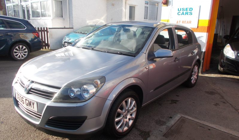 Vauxhall/Opel Astra 1.4i 16v ( a/c ) 2006MY Life, 5DR, H/B, SILVER MET, VERY CLEAN EXAMPLE full