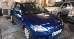 Vauxhall/Opel Corsa 1.2i 16v ( a/c ) 2006MY SXi, 3DR, H/B, BLUE MET, 44000 MILES ONLY, VERY CLEAN EXAMPLE