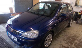 Vauxhall/Opel Corsa 1.2i 16v ( a/c ) 2006MY SXi, 3DR, H/B, BLUE MET, 44000 MILES ONLY, VERY CLEAN EXAMPLE full