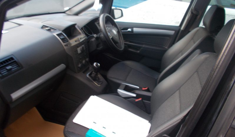 Vauxhall/Opel Zafira 1.9CDTi 16v ( 150ps ) 2008MY Design, 5DR, H/B, BLACK MET, HALF LEATHER, VERY CLEAN EXAMPLE full