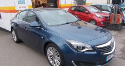 Vauxhall/Opel Insignia 1.6CDTi ( 136ps ) ( Nav ) ( s/s ) 2017.5MY SRi (Nav), 5DR, H/B, BLUE MET, LOW MILES, £30 ROAD TAX