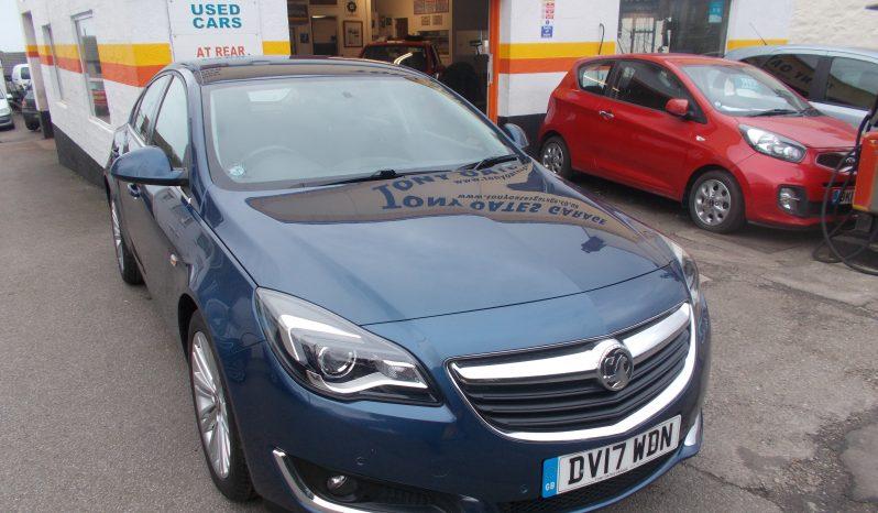Vauxhall/Opel Insignia 1.6CDTi ( 136ps ) ( Nav ) ( s/s ) 2017.5MY SRi (Nav), 5DR, H/B, BLUE MET, LOW MILES, £30 ROAD TAX full