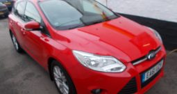 Ford Focus 1.6TDCi ( 95ps ) 1560cc 2012.25MY Edge, 5DR, H/B, RED, LOW MILES, £20 ROAD TAX, VERY CLEAN EXAMPLE