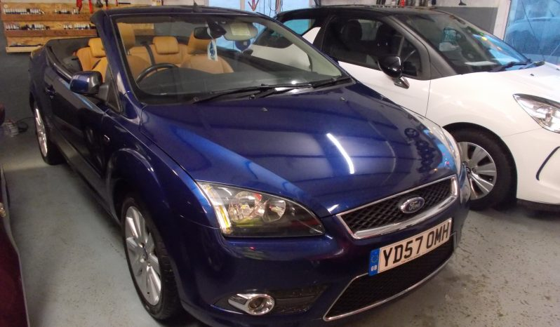 Ford Focus CC 2.0 2007MY CC-3, 2DR, CONVERTABLE, BLUE MET, FULL LEATHER, VERY CLEAN EXAMPLE full