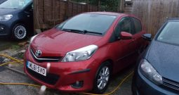 Toyota Yaris 1.4D-4D ( 90bhp ) 2012MY TR, 5DR, H/B, RED MET, £20 ROAD TAX, VERY CLEAN EXAMPLE