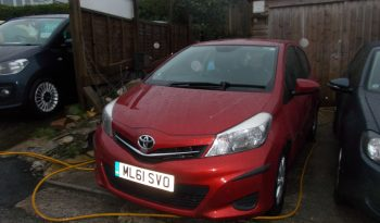 Toyota Yaris 1.4D-4D ( 90bhp ) 2012MY TR, 5DR, H/B, RED MET, £20 ROAD TAX, VERY CLEAN EXAMPLE full