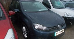 Volkswagen Golf 1.6TDI ( 105ps ) MK6 2009MY SE, 5DR, H/B, BLUE MET, £30 ROAD TAX, VERY CLEAN EXAMPLE