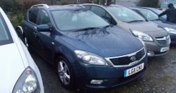 Kia ceed 1.6 ( 124bhp ) 2011MY 2, 5DR, ESTATE, BLUE MET, VERY CLEAN EXAMPLE