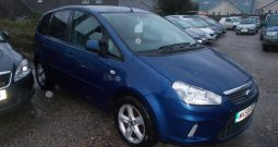 Ford C-MAX 1.6 16v 100 2009.5MY Zetec, 5DR, H/B, BLUE MET, 61000 MILES ONLY, VERY CLEAN EXAMPLE