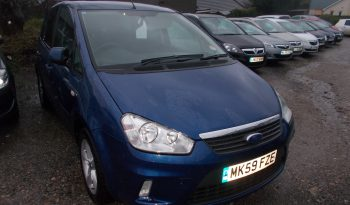 Ford C-MAX 1.6 16v 100 2009.5MY Zetec, 5DR, H/B, BLUE MET, 61000 MILES ONLY, VERY CLEAN EXAMPLE full