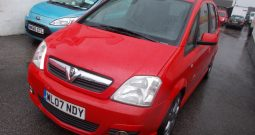 Vauxhall/Opel Meriva 1.4i 16v ( a/c ) ( Exterior pk ) 2008MY Design, 5dr, H/B, RED, VERY CLEAN EXAMPLE