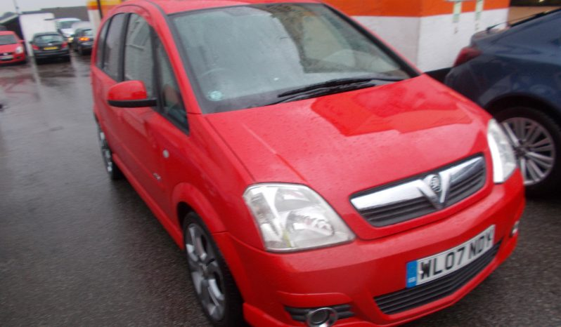 Vauxhall/Opel Meriva 1.4i 16v ( a/c ) ( Exterior pk ) 2008MY Design, 5dr, H/B, RED, VERY CLEAN EXAMPLE full