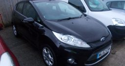Ford Fiesta 1.25 ( 82ps ) 2012MY Zetec, 5DR, H/B, BLACK MET, LOW MILES, VERY CLEAN EXAMPLE