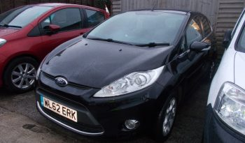 Ford Fiesta 1.25 ( 82ps ) 2012MY Zetec, 5DR, H/B, BLACK MET, LOW MILES, VERY CLEAN EXAMPLE full