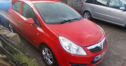Vauxhall/Opel Corsa 1.2i 16v 2010MY Active, 5DR, H/B, RED, CORNISH, LOW MILES