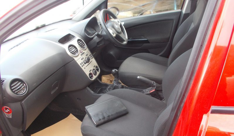 Vauxhall/Opel Corsa 1.2i 16v 2010MY Active, 5DR, H/B, RED, CORNISH, LOW MILES full