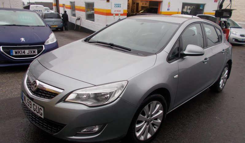 Vauxhall/Opel Astra 1.6 ( 113bhp ) 2010MY Exclusiv, 5DR, H/B, SILVER MET, LOW MILES, CORNISH, VERY CLEAN EXAMPLE full