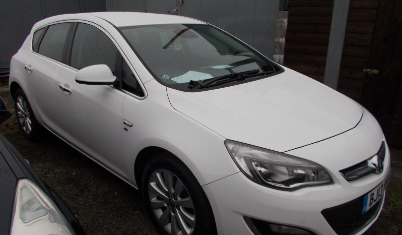 Vauxhall/Opel Astra 2.0CDTi 16v ( 165ps ) ecoFLEX ( s/s ) 2014MY Elite, 5DR, H/B, WHITE, £30 ROAD TAX, FULL LEATHER, VERY CLEAN EXAMPLE full