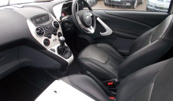 Ford Ka 1.2 2010.5MY Zetec, 3DR, H/B, SILVER MET, 29000 MILES ONLY, FULL LEATHER, £30 ROAD TAX, VERY CLEAN EXAMPLE full