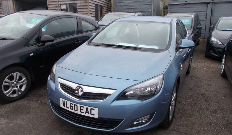 Vauxhall/Opel Astra 2.0CDTi 16v ( 160ps ) 2011MY SRi, 5DR, H/B, BLUE MET, 48000 MILES ONLY, VERY CLEAN EXAMPLE full