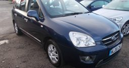 Kia Carens 2.0CRDi ( 7st ) auto GS, 5DR, H/B, BLUE MET, 45000 MILES ONLY, 7 SEATER, VERY CLEAN EXAMPLE