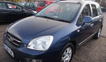 Kia Carens 2.0CRDi ( 7st ) auto GS, 5DR, H/B, BLUE MET, 45000 MILES ONLY, 7 SEATER, VERY CLEAN EXAMPLE full