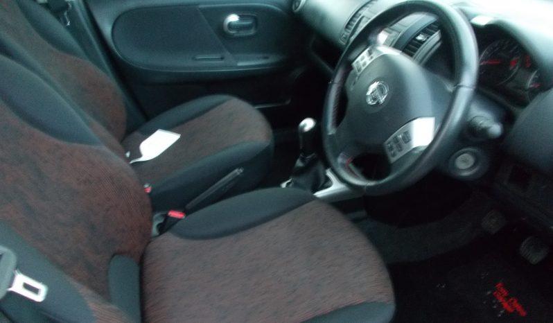 Nissan Note 1.5dCi ( 86ps ) N-TEC, 5DR, H/B, RED MET, LOW MILES, £30 ROAD TAX full