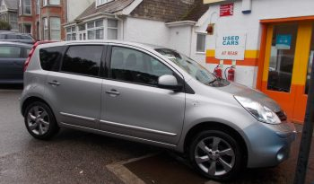 Nissan Note 1.4 16v 2011MY N-TEC, 5DR, H/B, SILVER MET, 55000 MILES ONLY, VERY CLEAN EXAMPLE full