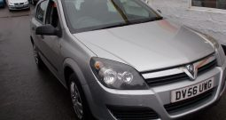 Vauxhall/Opel Astra 1.4i 16v ( a/c ) 2006.5MY Life, 5DR, H/B, SILVER MET, VERY CLEAN EXAMPLE