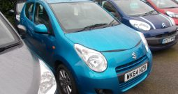 SUZUKI ALTO SZ4 1.0, 5DR, H/B, BLUE MET, 35000 MILES ONLY, £0 ROAD TAX, VERY CLEAN EXAMPLE