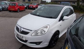 VAUXHALL CORSA 1.3CDTI LIMITED EDITION, 3DR, H/B, TURBO DIESEL, £30 ROAD TAX, 62000 MILES ONLY, VERY CLEAN EXAMPLE full