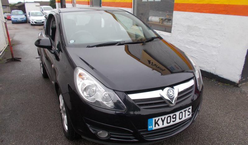 VAUXHALL CORSA 1.2 SXI, 3DR, H/B, BLACK MET, 56000 MILES ONLY, VERY CLEAN EXAMPLE full