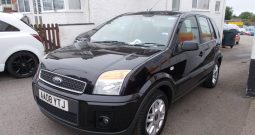 FORD FUSION 1.4 ZETEC CLIMATE, 5DR, H/B, BLACK MET, 42000 MILES ONLY, VERY C;LEAN EXAMPLE