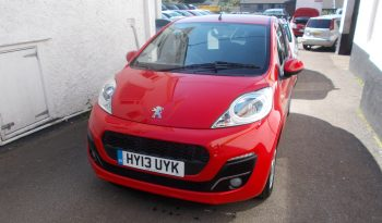 PEUGEOT 107 1.0 ALLURE, 3DR, H/B, RED, 24000 MILES ONLY, £0 ROAD TAX, VERY CLEAN EXAMPLE full
