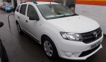 DACIA LOGAN 1.5 DCI TURBO DIESEL AMBIANCE, 5DR, ESTATE, WHITE, 49000 MILES ONLY, £0 ROAD TAX full