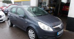 VAUXHALL CORSA 1.2 CLUB, 5DR, H/B, GREY MET, VERY CLEAN EXAMPLE
