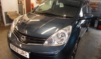 NISSAN NOTE 1.4 N-TEC, 5DR, H/B, TORQUOISE MET, HALF LEATHER, VERY CLEAN EXAMPLE full