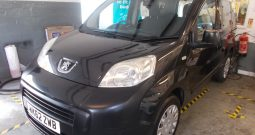 PEUGEOT BIPPA TEPEE 1.3HDI AUTO, 5DR, H/B, MPV, BLACK MET, 34000 MILES ONLY, £20 ROAD TAX, VERY CLEAN EXAMPLE