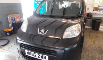 PEUGEOT BIPPA TEPEE 1.3HDI AUTO, 5DR, H/B, MPV, BLACK MET, 34000 MILES ONLY, £20 ROAD TAX, VERY CLEAN EXAMPLE full