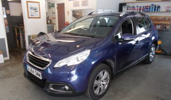 PEUGEOT 2008 1.2 VTI ACTIVE, 5DR, H/B, BLUE MET, LOW MILES, VERY CLEAN EXAMPLE, £30 ROAD TAX full